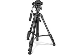 PrimaPhoto V001 Video Tripod Small - Black