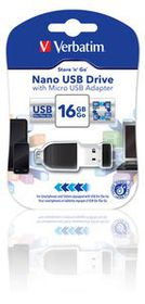 Verbatim 16GB  OTG Store and Stay USB