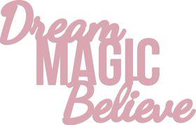 Kaisercraft Cutting Dies - Dream, Magic, Believe