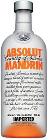 Absolut - Mandrin Vodka - 750ml