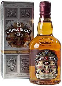 Chivas Regal 12 Year Old Scotch Whiskey Case (6 x 750ml)