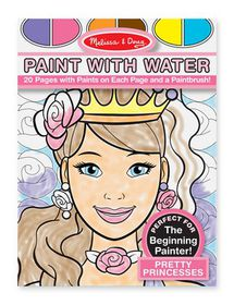 Melissa & Doug Paint with Water Pretty Princesses
