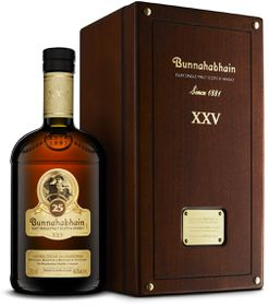Bunnahabhain - 25 Year Old Islay Single Malt Whisky - Case 4 x 750ml