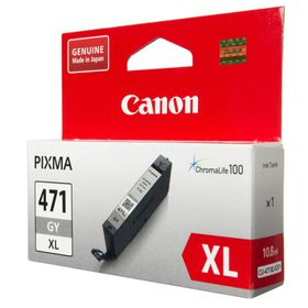 Canon CLI-471 Grey Single Ink Cartridge