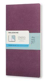 Moleskine Chapters Journal Slim Pocket Dotted Purple
