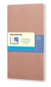 Moleskine Chapters Journal Slim Medium Dotted Rose