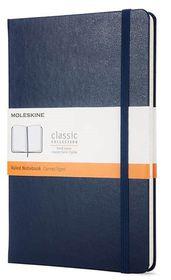Moleskine Classic Navy Large Ruled Notebook