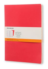 Moleskine Volant Journal Ruled Extra Large Scarlet Red