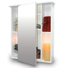 Wildberry - Mirror Centre Cabinet - White