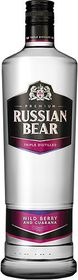 Russian Bear - Wild Berry with Guarana Vodka - 750ml