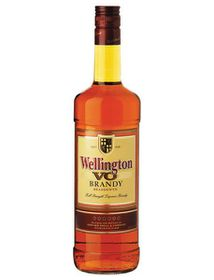 Wellington - VO Brandy - Case 12 x 1 Litre