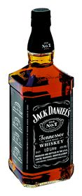 Jack Daniels - Tennessee Whiskey - 1 Litre