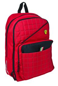 Ferrari Red Label Collection Expandable Backpack