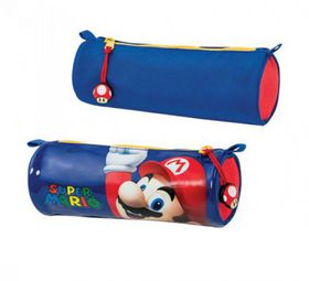 Super Mario Round Pencil Case