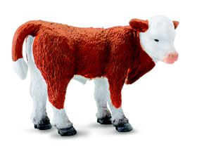 Collecta Farmlife-Hereford Calf - Standing-S