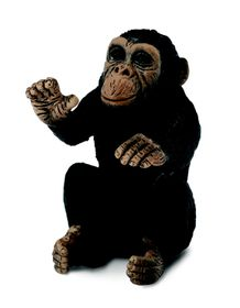 Collecta Wildlife-Chimpanzee Cub - Hugging-S