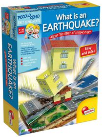 Piccolo Genio What Is An Earthquake ?