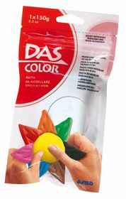 DAS Air Hardening Modelling Clay 150g - White