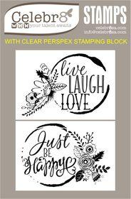 Celebr8 Stamp - Floral Stain