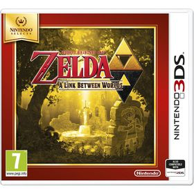 The Legend of Zelda: A Link Between Worlds Select (3DS)