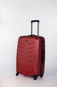 Paklite Stealth 71cm Spinner Hard Trolley Case  - Red