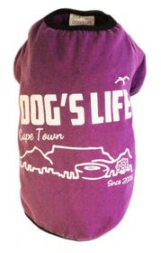 Dog's Life - Cape Town 2006 Purple - Extra-Small