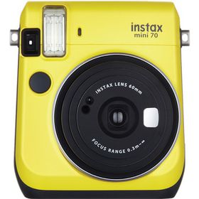 Fujifilm Instax Mini 70 Camera Yellow