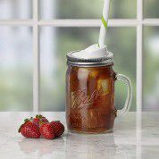 Ball - Wide Mouth Drinking Mason Jars 700ml - 4 Pack