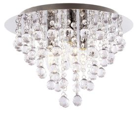 Bright Star Chrome Ceiling Fitting
