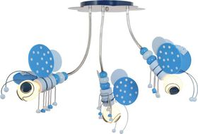 Bright Star - Chandelier - Blue