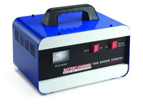 Moto-Quip - 30 Amp Battery Charger With 150 Amp Jump Starter