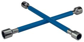 Moto-Quip - Wheel Rubber Coated Spanner - Blue
