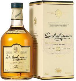 Dalwhinnie 15 Year Old Single Malt Whisky Case - 6 x 750ml