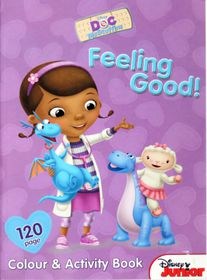 Disney Junior Doc McStuffins 120 Page Colour & Activity Book