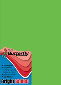 Butterfly A3 Bright Board 5s - Green