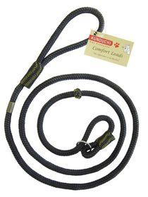 Kunduchi -  Comfort Slip Lead - Black - 1.8m