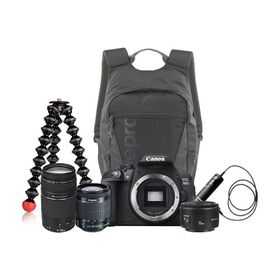 Canon 700D Triple Lens Ultimate Bundle