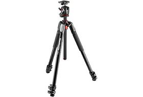 Manfrotto MK055XPRO3-BHQ2 New 055 Aluminum 3-Section Tripod with XPRO Q2 Ball Head Black