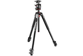 Manfrotto MK190XPRO3-BHQ2 New 190 Aluminum 3-Section Tripod with XPRO Q2 Ball Head Black
