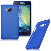 Frost TPU Cover Case for Samsung Galaxy A7 - Blue