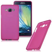 Frost TPU Cover Case for Samsung Galaxy A7 - Pink