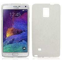 Frost TPU Cover Case for Samsung Galaxy Note 4 - White