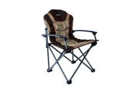 Kaufmann - Outdoor King Sport Chair - Brown and Khaki