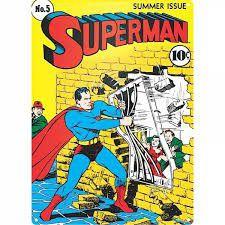 Superman Jailbreak Steel Sign