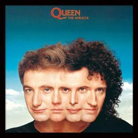 Queen - The Miracle Framed Album Cover Print