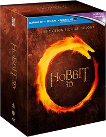 The Hobbit 3D: The Motion Picture Trilogy (3D Blu-ray)