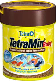 Tetra - Min Baby 66ml For Fry Up To 1cm - 47% Protein