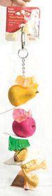 Marltons Fruit Kabobs Large Parrot XL Large Rope/Wood Toy