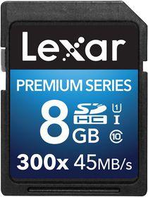 Lexar 8GB Premium SDHC Card
