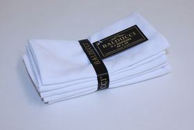 Balducci - Cotton Napkins - Set Of 6 - White